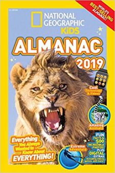 National Geographic Kids · Kids Almanac 2019 Giveaway Sweepstakes