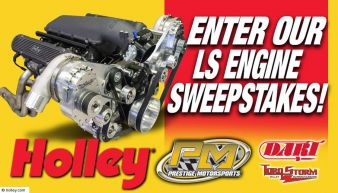 Holley Sweepstakes