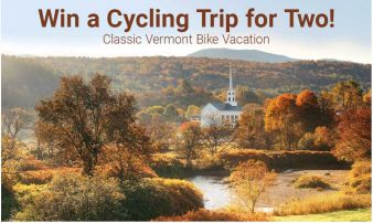 Performance Bicycle and Vermont Bicycle Tours Sweepstakes