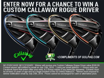 GolfHQ Sweepstakes