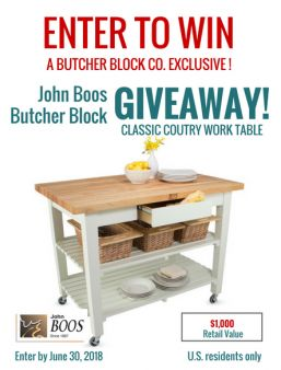 Butcher Block Co. Sweepstakes