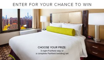 Shop Fairfield Inn & Suites Sweepstakes Sweepstakes