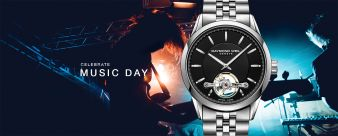 RAYMOND WEIL · 2018 Music Day Contest Sweepstakes