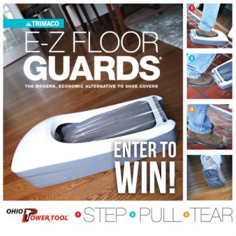 Ohio Power Tool · E-Z Floor Guards Giveaway Sweepstakes