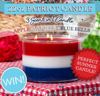 PURE AIR Candles Sweepstakes