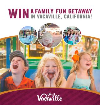 Visit Vacaville Sweepstakes