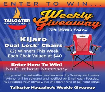 Tailgater Magazine Sweepstakes