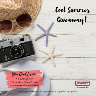 Penske Automotive Group · Cool Summer Giveaway Sweepstakes