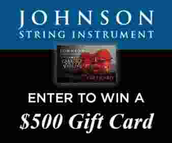 Strings Magazine Sweepstakes