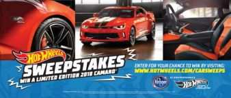 Hot Wheels Sweepstakes