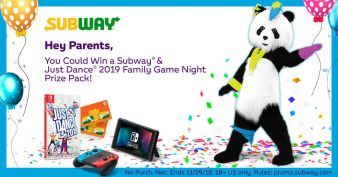 SUBWAY Sweepstakes
