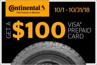 Continental Tire Sweepstakes