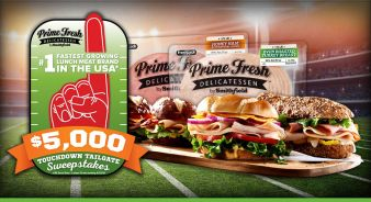 PRIME FRESH TAILGATE SWEEPSTAKES Sweepstakes