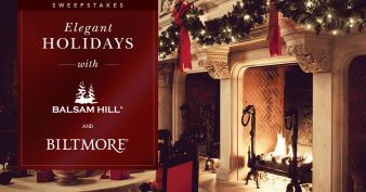 Balsam Hill & Biltmore Sweepstakes Sweepstakes
