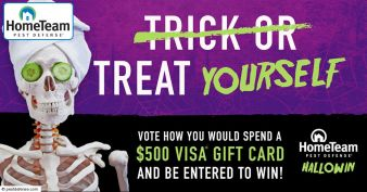 Pest Defense · Halloween Contest Sweepstakes