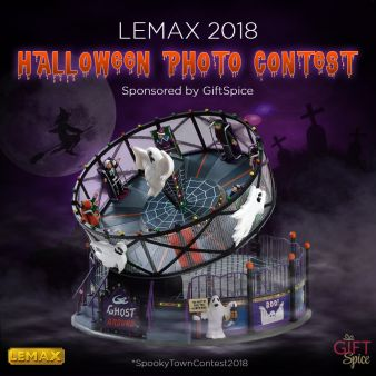 Lemax Spooky Town 2018 Photo Contest Sweepstakes