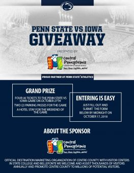 Penn State Nittany Lions Sweepstakes