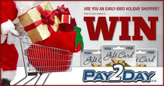 PAY2DAY Sweepstakes