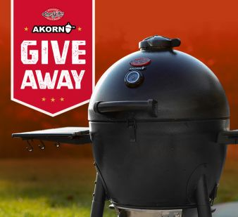 Char-Griller · Thanksgrilling Akorn Giveaway Sweepstakes
