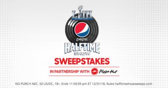 Pepsi Super Bowl LIII Halftime Show Sweepstakes Sweepstakes