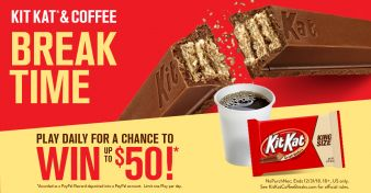 Kit Kat Sweepstakes