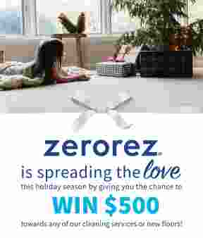 Spread the Love with Zerorez® Sweepstakes Sweepstakes