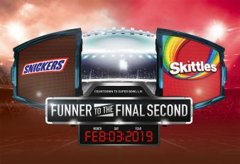 SNICKERS ® + SKITTLES® + M&M'S® Funner to the Final Second Sweepstakes