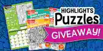 Highlights · Puzzles Giveaway Sweepstakes