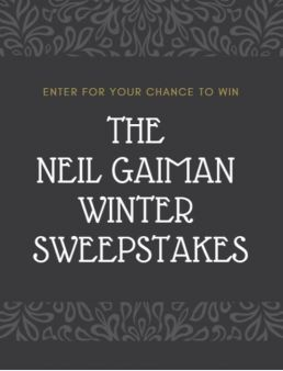 HarperCollins Publishers · Neil Gaiman Winter Sweeps Sweepstakes