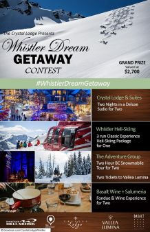 Crystal Lodge And Suites Sweepstakes