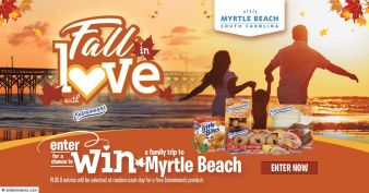 Entenmann's · Visit Myrtle Beach Sweeps  Sweepstakes