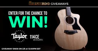 The Music Zoo · Taylor Acoustic Giveaway Sweepstakes