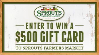 Sprouts Farmer's Market Sweepstakes