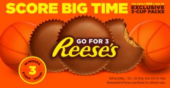 REESE'S March Madness Instant Win Game  Sweepstakes