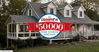 Champion Windows and Home Exteriors $50,000 2020 Giveaway Sweepstakes