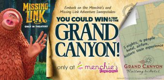 Menchie's Missing Link Adventure Sweepstakes Sweepstakes
