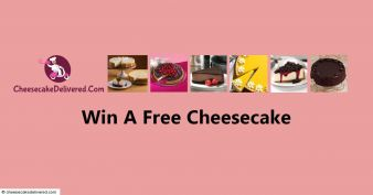 Cheesecake Delivered Sweepstakes