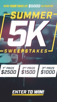 LMR Summer 5K Sweepstakes Sweepstakes