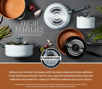 Farberware Cookware Sweepstakes