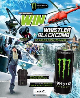 Monster Whistler Instant Win Sweepstakes Sweepstakes