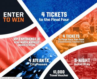 NCAA Final Four Championship Giveaway Sweepstakes