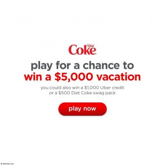Diet Coke Sweepstakes