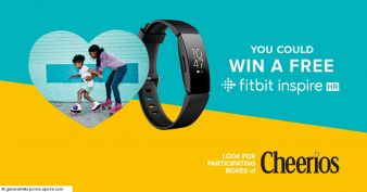 Cheerios Heart Health Promotion with Fitbit Sweepstakes Sweepstakes