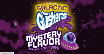 Galactic Gushers Mystery Flavor Instant Win Game Sweepstakes