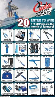 Coastal Angler Mag Sweepstakes