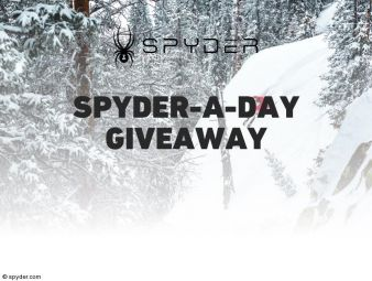 Spyder-A-Day Giveaway Sweepstakes