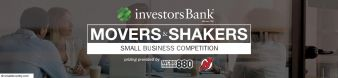 Investors Bank Movers & Shakers Small Business Competition Sweepstakes
