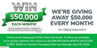 Green Dot Sweepstakes