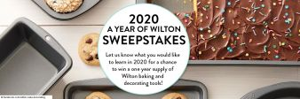 Wilton Cake Decorating Sweepstakes