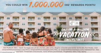 Holiday Inn Club Vacations Sweepstakes